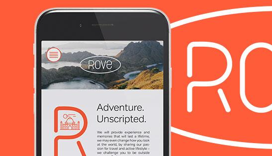 ROVE / branding / Travel brand